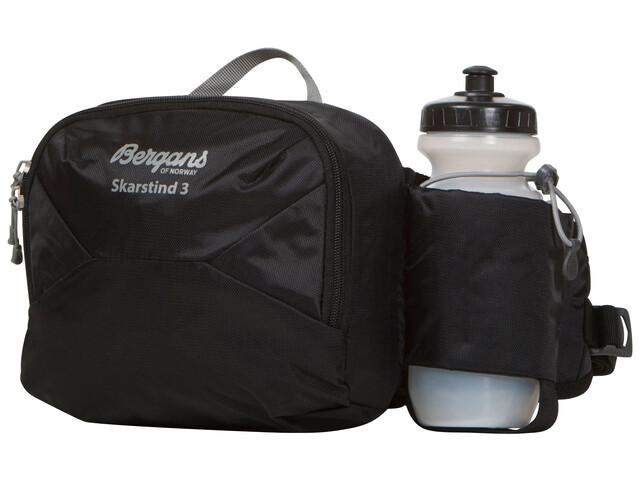 Bergans Skarstind 3 Hip Pack with Bottle Black/Grey